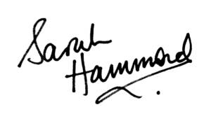 Sarah Hammond signature